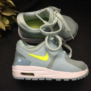 Nike-Air Max-Teal Baby Shoes-4C